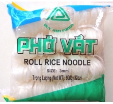 ROLL RICE NOODLE 3MM 908g