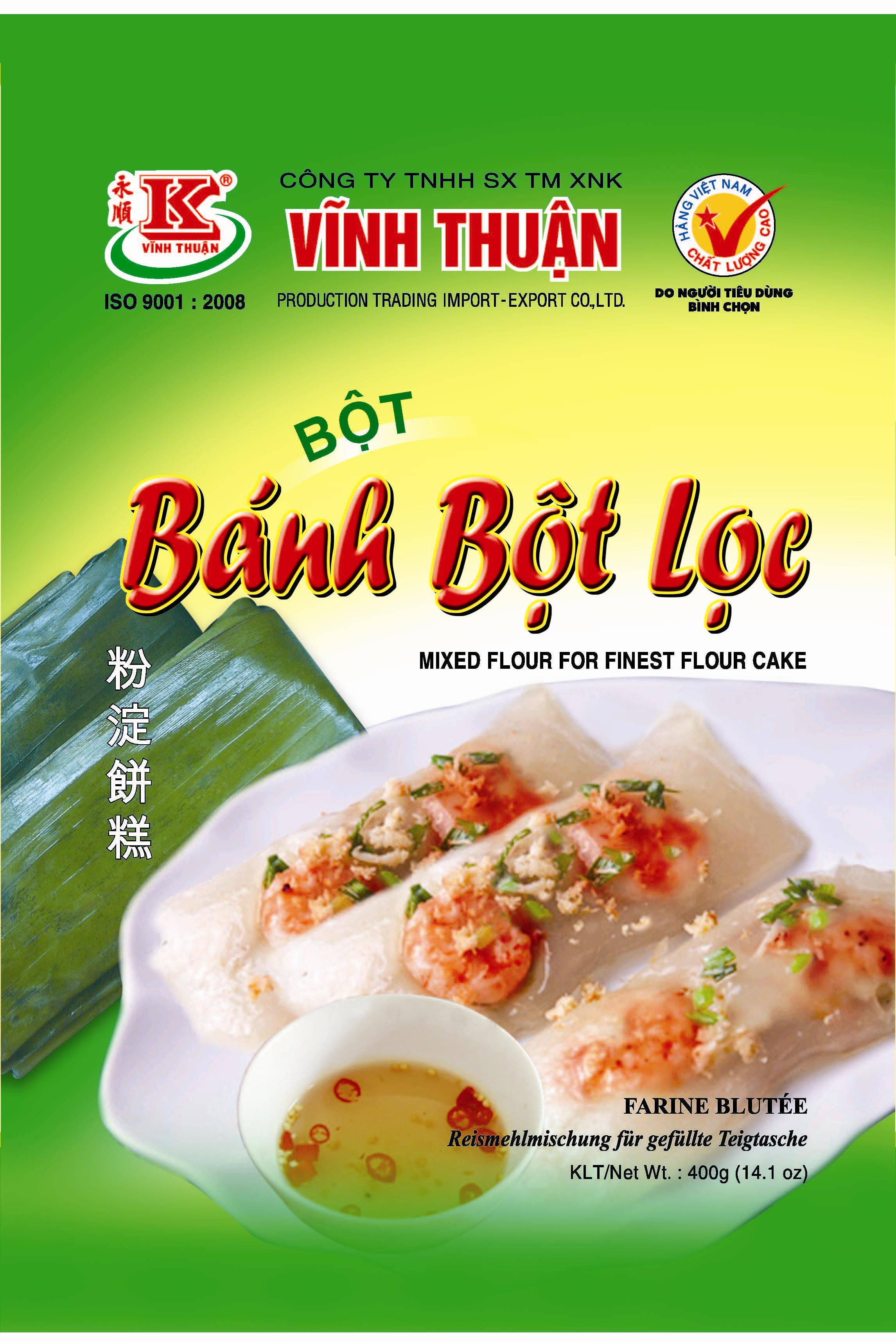 MIXED FLOUR FOR FINEST FLOUR CAKE VINH THUAN 400G