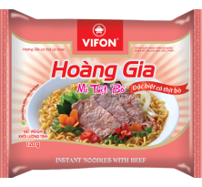 HOANG GIA INSTANT NOODLES WITH BEEF