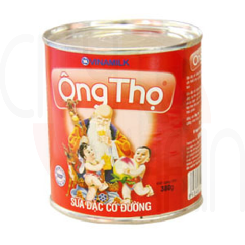ONG THO CONDENSED MILK (RED LABEL) 380g