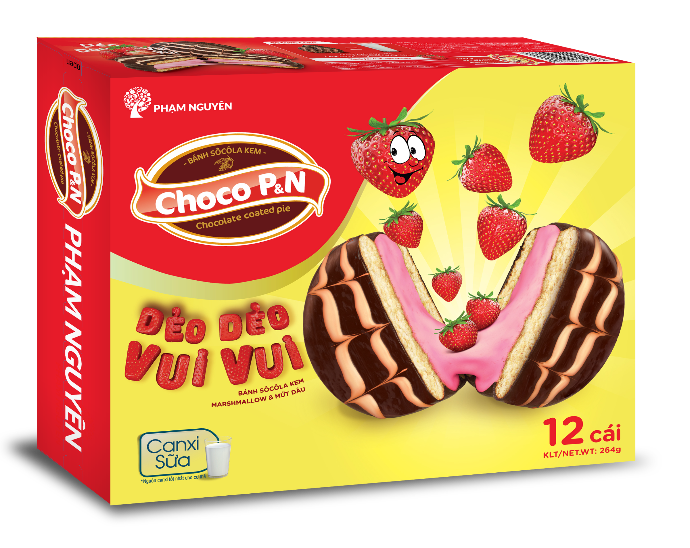 CHOCO STRAWBERRY 264G